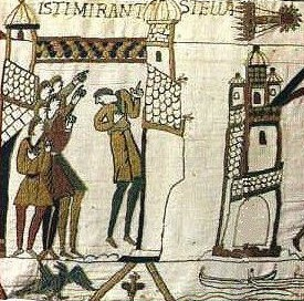 Comet on Bayeux Tapestry